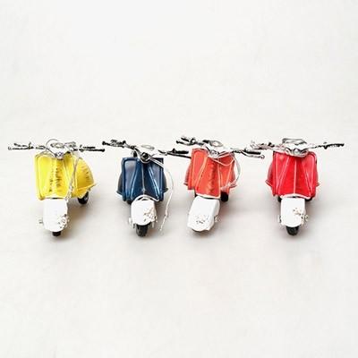 클래식 미니 오토바이 4p 세트