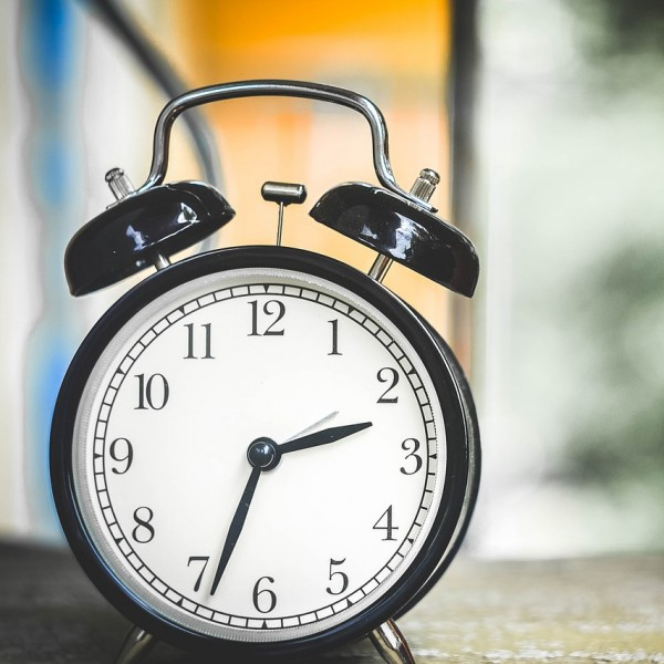 큰액정 스퀘어 디지털 시계